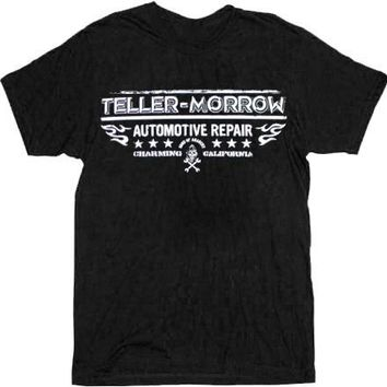 Sons of Anarchy Teller-Morrow Automotive Repair Black Adult T-shirt - Sons of Anarchy - | TV Store Online