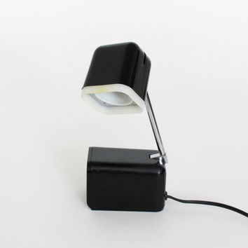 Teleskop Desk Lamp Bahag Adjustable Folding Lamp Black