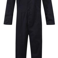 Boiler Suit Mens Overall Coverall Mechanic College Work Navy Blue S- 3XL New | eBay