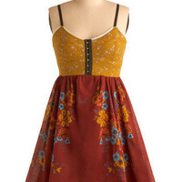 Coming Up Wildflowers Dress