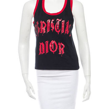 Christian Dior Graphic Top