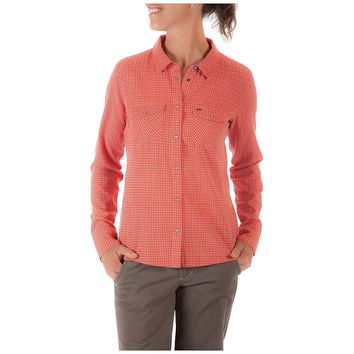 Mountain Khakis Sidesaddle Plaid Shirt - Women's