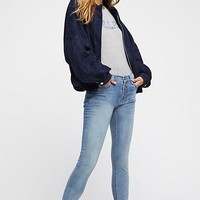 "Free People ""Jean Reagan Raw"" - Sky"
