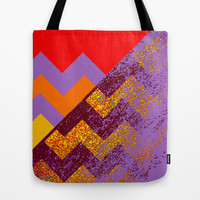 rational meets sparkly irrational Tote Bag by Marianna Tankelevich