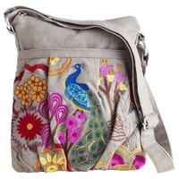 Peacock Cross Body Bag