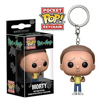 Funko Rick and Morty Morty Pocket Pop! Key Chain