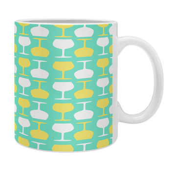 Allyson Johnson Happy Hour Wine Glasses Coffee Mug
