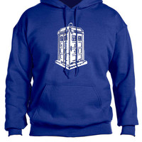 Doctor Who Royal Blue TARDIS Sweatshirt Hoodie