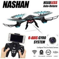 RC Drone With WIFI Camera Quadcopter Drones Headless Mode 6 Axis Gyro 4CH Drone 360 Degree