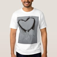 Winter Love - Heart in Snow Shirts