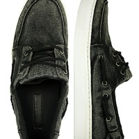 Buckle Black Midnight Rambler Boat Shoe