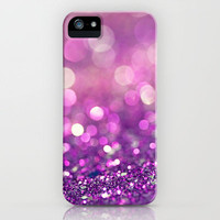 Pretty Purples  - an abstract photograph iPhone Case by Amelia Kay Photography | Society6