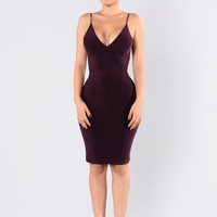 Alexandria Dress - Plum