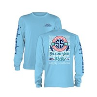 Palmetto Moon | Simply Southern Prep Arrow Long Sleeve T-shirt | Palmetto Moon