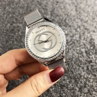 GUCCI Stainless Dial Watch