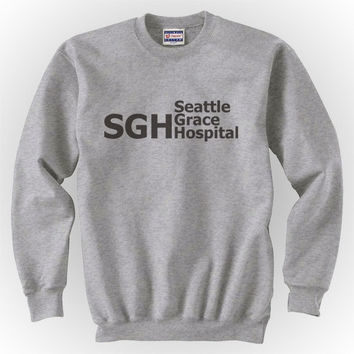 SGH Seattle Grace Hospital Unisex Crewneck Sweatshirt S to 3XL