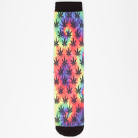Magnum Socks Trippy Mens Tube Socks Multi One Size For Men 24792695701