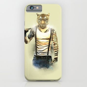 Blizzard Tiger iPhone & iPod Case by Daniac Design | Society6
