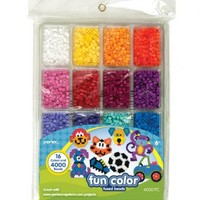 Perler Fused Bead Tray 4000/Pkg-Fun Color