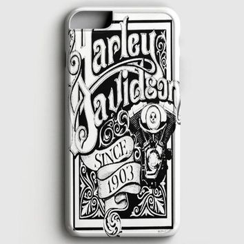 Harley Davidson Logo Club iPhone 6 Plus/6S Plus Case