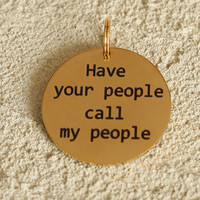 Altar'd State My People Dog Tag - Bear & Ollie Pet Shop - Gifts/Home Decor
