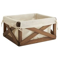 Cecilia Shelf Basket - Light Brown
