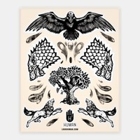 House Stark Stickers