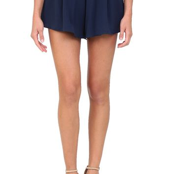 Navy Flowy Shorts at Blush Boutique Miami - ShopBlush.com : Blush Boutique Miami – ShopBlush.com