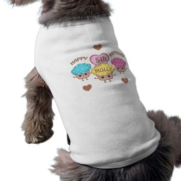 Your Custom Doggie Ribbed Tank Top Dog Shirt
