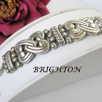Brighton Bracelet Silver Heart Links with Box