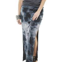 Tye Dye Maxi Skirt | Shop Bottoms at Wet Seal
