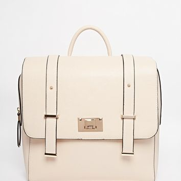 New Look Square Satchel Backpack