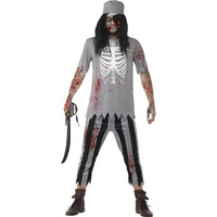 Scary Pirate Halloween Costume