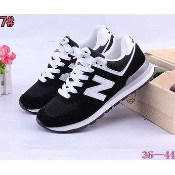 New Balance Fashionable Casual All-Match N Words Breathable Couple Sneakers Shoes 7#