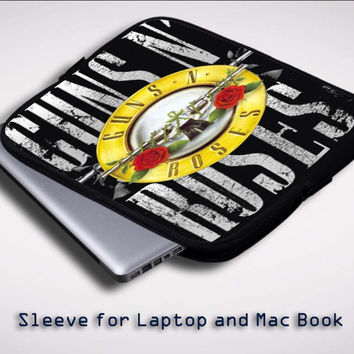 Guns N Roses X0541 Sleeve for Laptop, Macbook Pro, Macbook Air (Twin Sides)