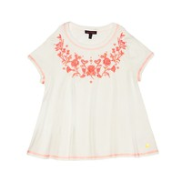 Knit Top With Embroidery by Juicy Couture