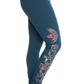 The Linear Leggings in Blue