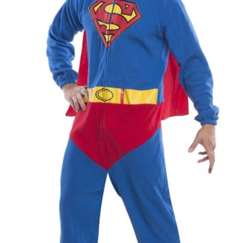 Mens Superman Onesuit Costume