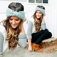 Knitted Headband Knit Headband CHOOSE YOUR by BglorifiedBoutique