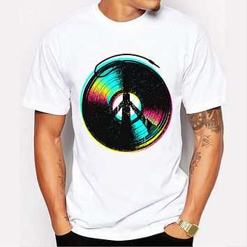 Summer men's customized t-shirt creative Record level up design tee shirts short sleeve O-neck cool tops