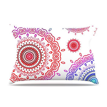 "Monika Strigel ""Rainbow Infinity"" Pillow Case"
