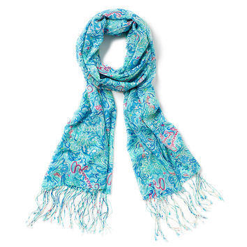 Lilly Pulitzer Aquarius Horoscope Murfee Scarf