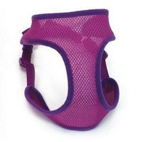 Coastal Two Tone Soft Step In Harness X-Small Orchid