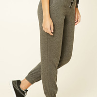 Active Lace-Up Fleece Joggers
