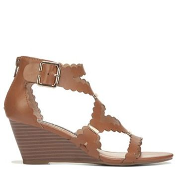 XOXO Scottie Wedge Sandal Tan
