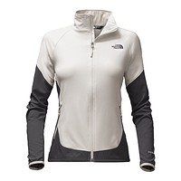 Women's Nimble Jacket in Moonlight Ivory and Asphalt Grey by The North Face
