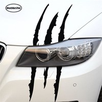 HotMeiNi car styling Monster Sticker Scratch Stripe Claw Marks Car Stickers Auto Vinyl Car Sticker Car Accessories 40cm*12cm