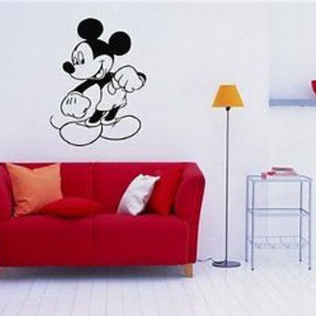 Mickey Mouse Wall Art Sticker Decal 191