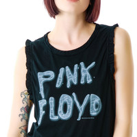Chaser Pink Floyd Muscle Tank Black