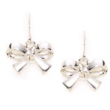 Kate Spade New York 'Finishing Touch' French Wire Bow Earrings
